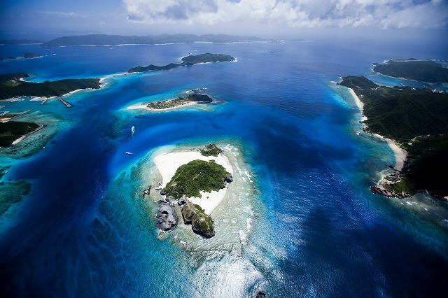 Kerama Islands national park zamami village photograph: Kaoru Soehata / PHOTOWAVE