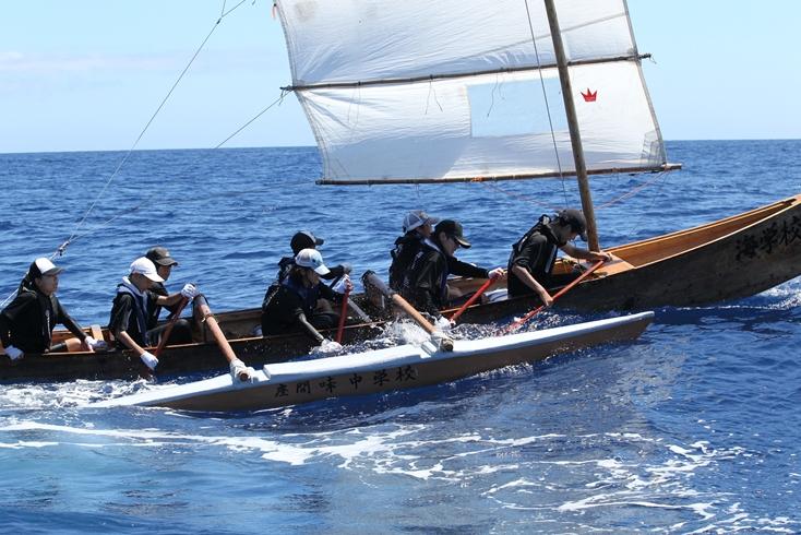 6月27日~28日は 第16回サバニ帆漕レース