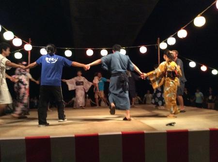 盆踊りステージ.JPG