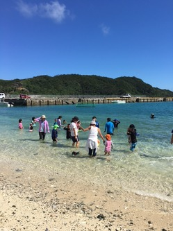 慶留間海開き8.JPG